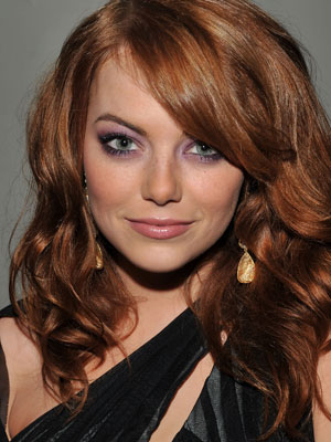 emma stone hair. wallpaper hair emma stone