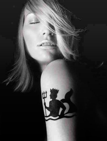 aquarius zodiac tattoos. cool aquarius tattoos