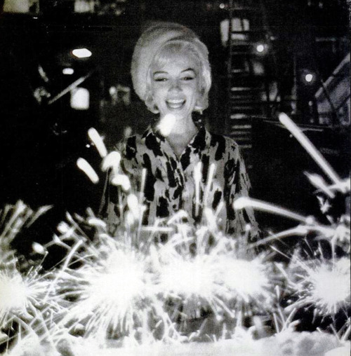 Marilyn's 36th birthday, on set of Something's got to Give