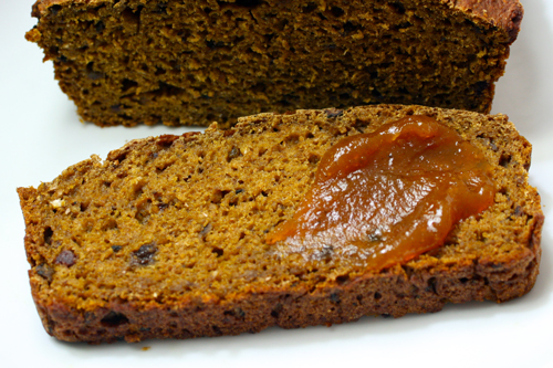 Healthy Pumpkin Bread Recipe