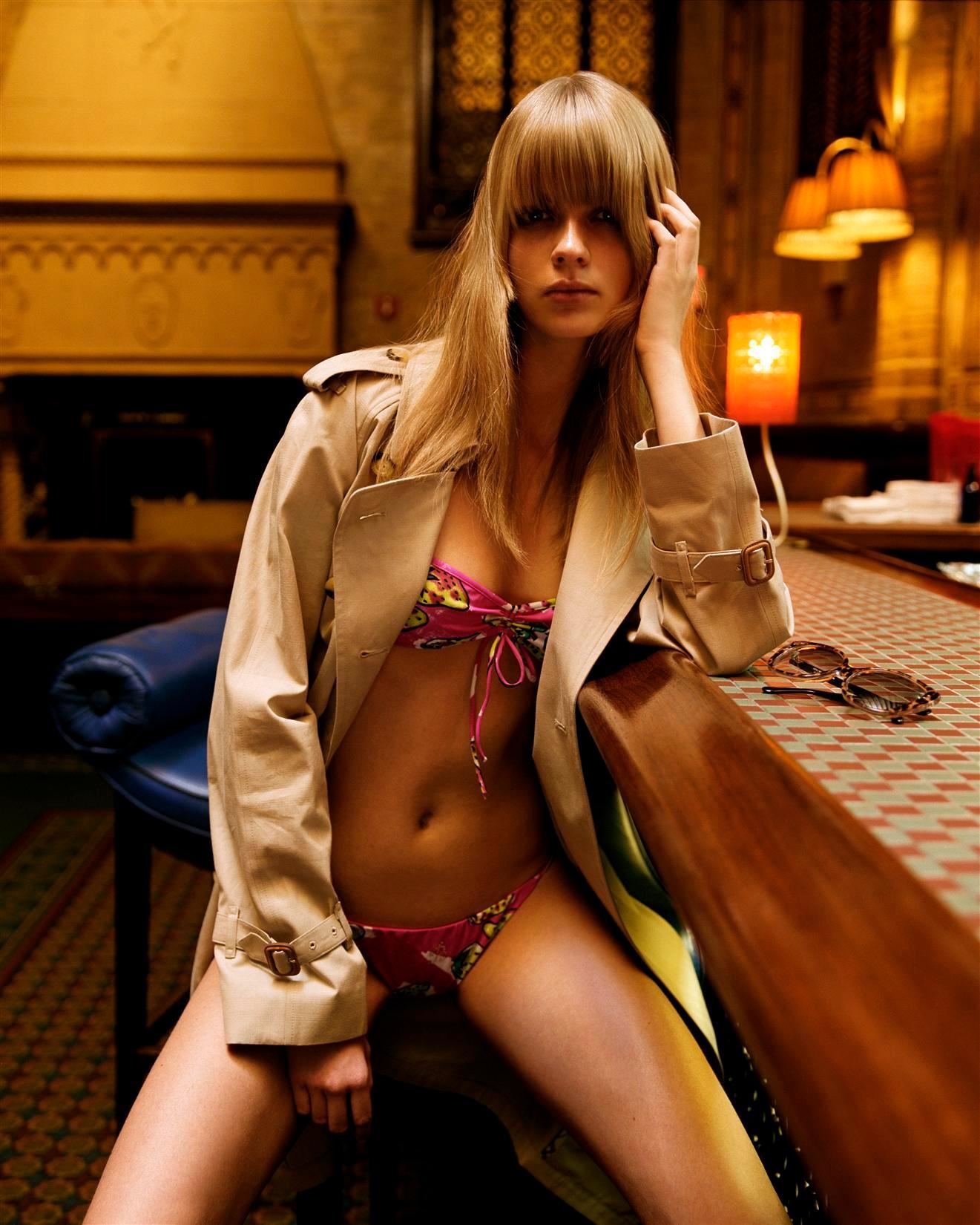 Julia Stegner - Vogue Italia Photoshoot
